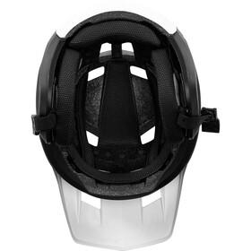 Fox Dropframe Casco de bicicleta, white/black
